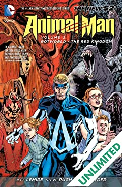 Animal Man (2011-2014) Vol. 3: Rotworld: The Red Kingdom